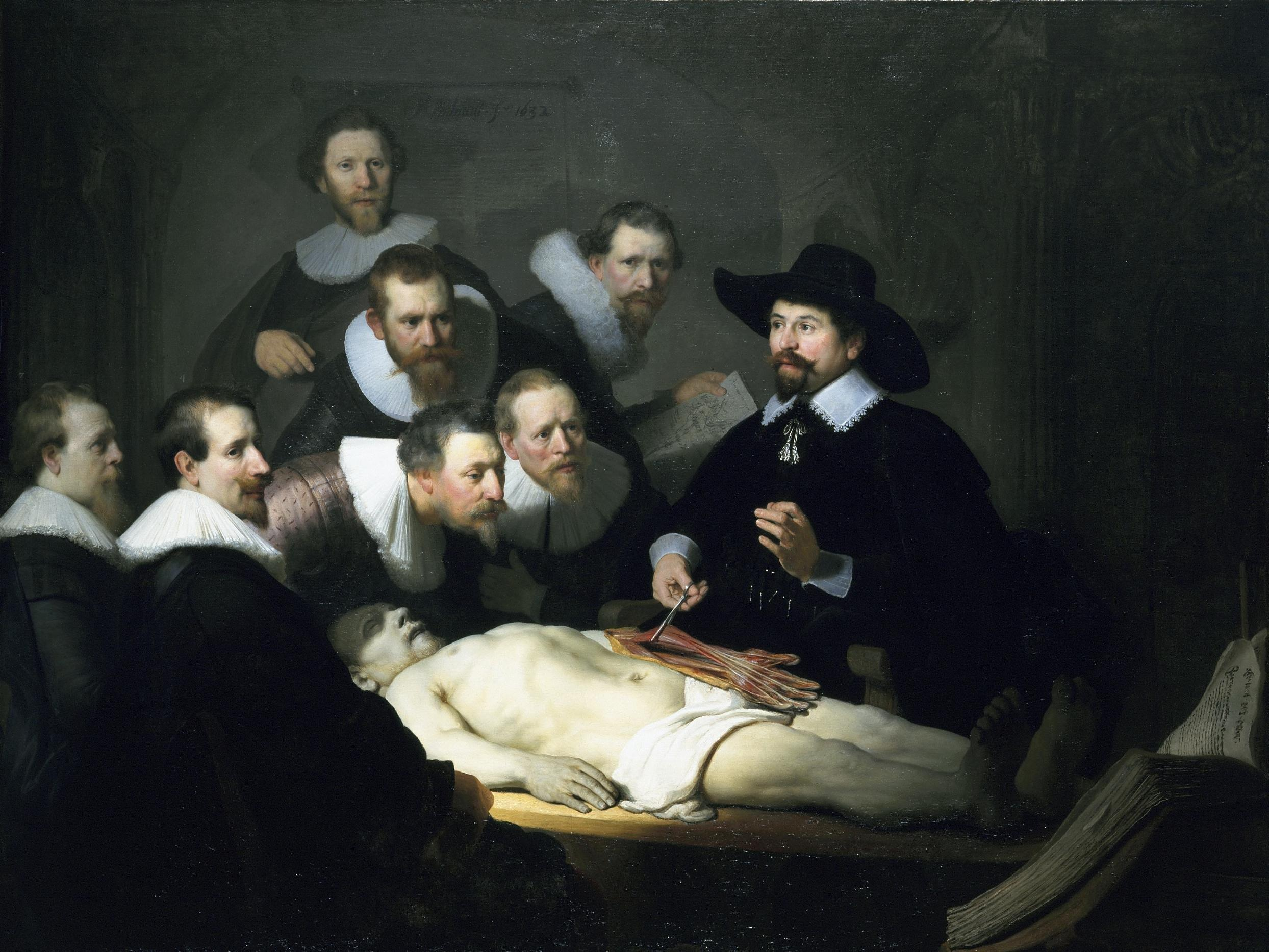 Rembrandt: The Anatomy Lesson of Dr. Nicolaes Tulp